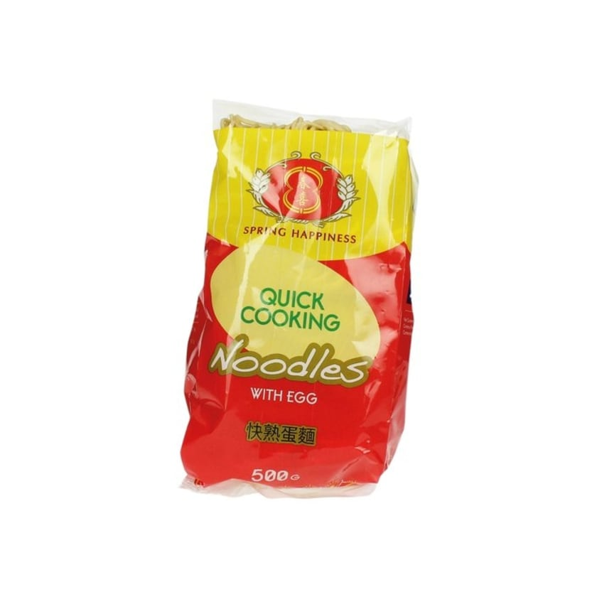 Spring Happiness Quick Cooking Noodles mit Ei 500g