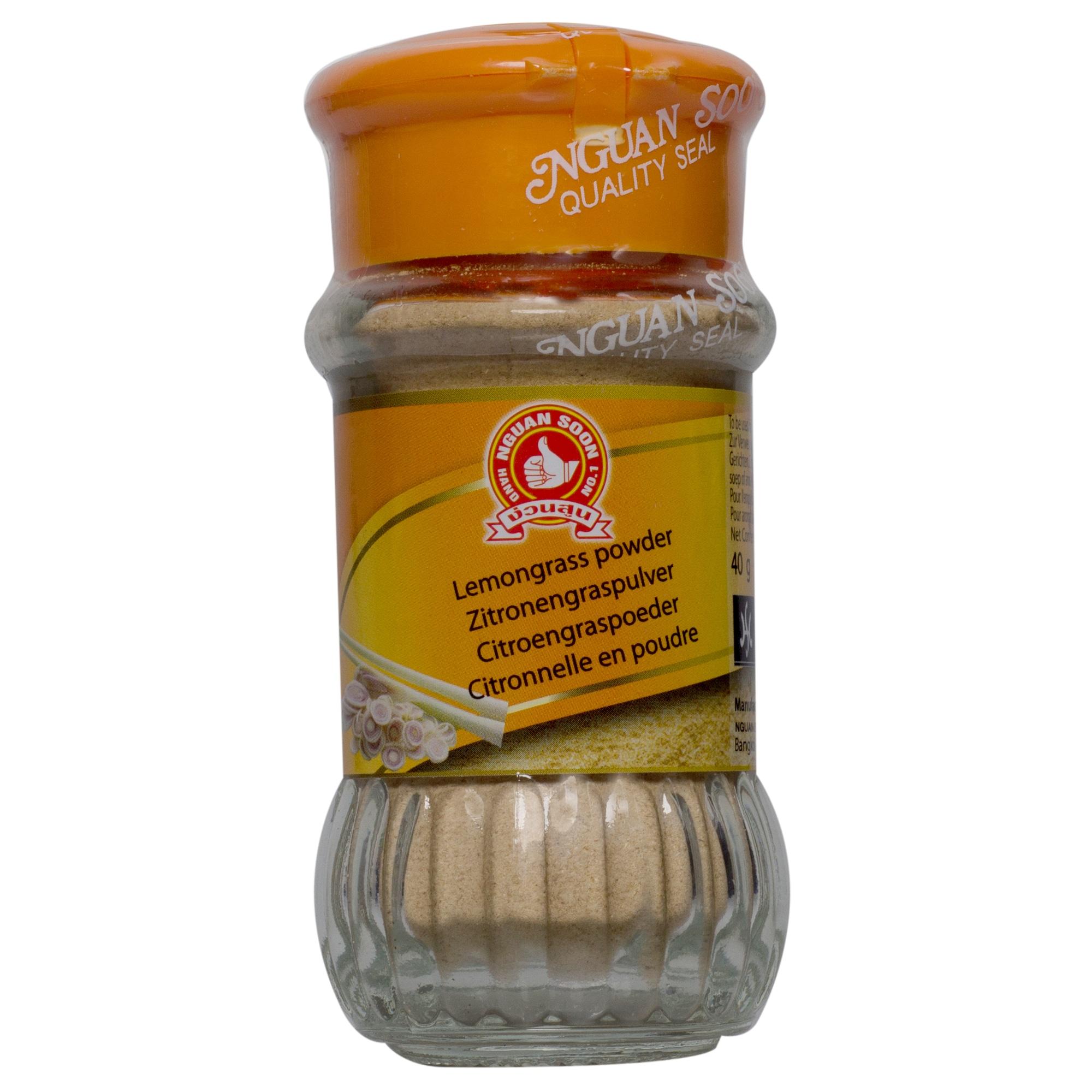 Nguan Soon Lemongrass powder Zitronengraspulver 40g