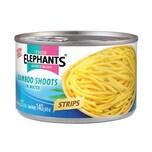 Twin Elephant Bambussprossen in Streifen 140 g