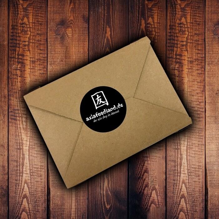 Asiafoodland Glückskekse Fortunecookie Set im schönen Geschenkkarton 90g