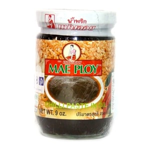 Mae Ploy Chili Paste in Bohnenöl Nam Phrik Paste 250 g