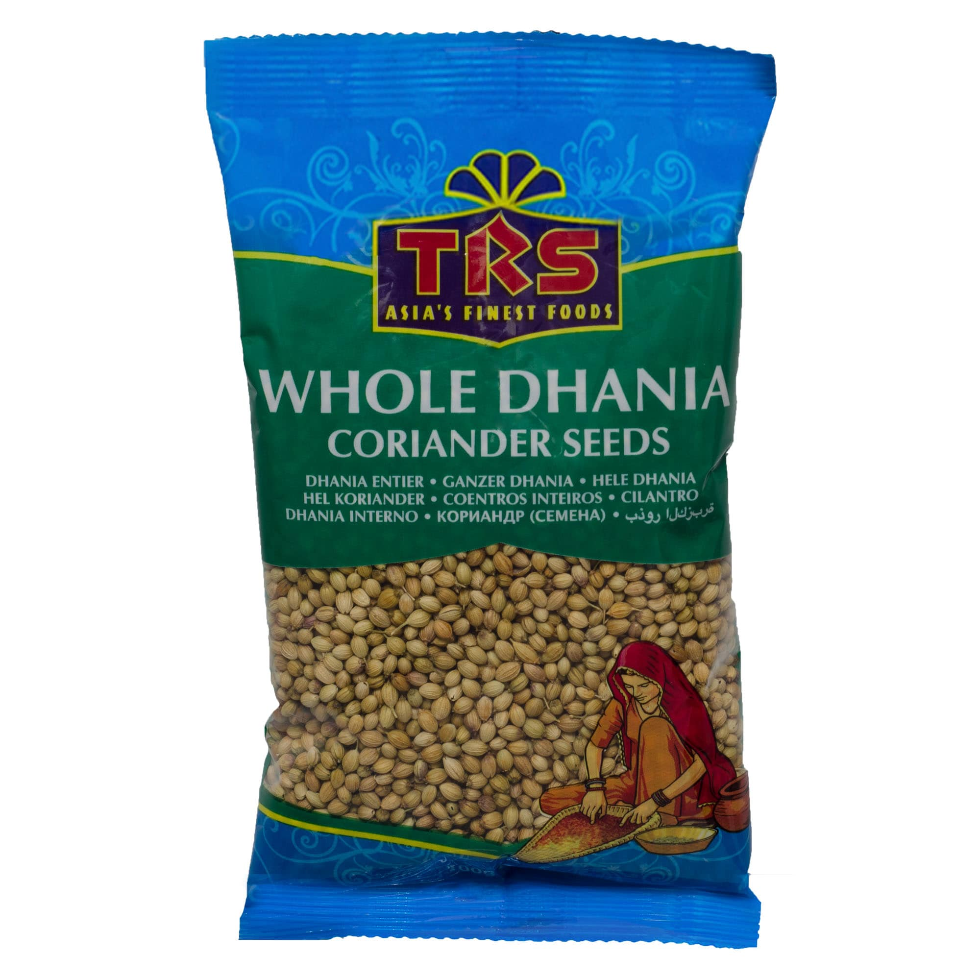 TRS Whole Dhania Koriander ganz 100g