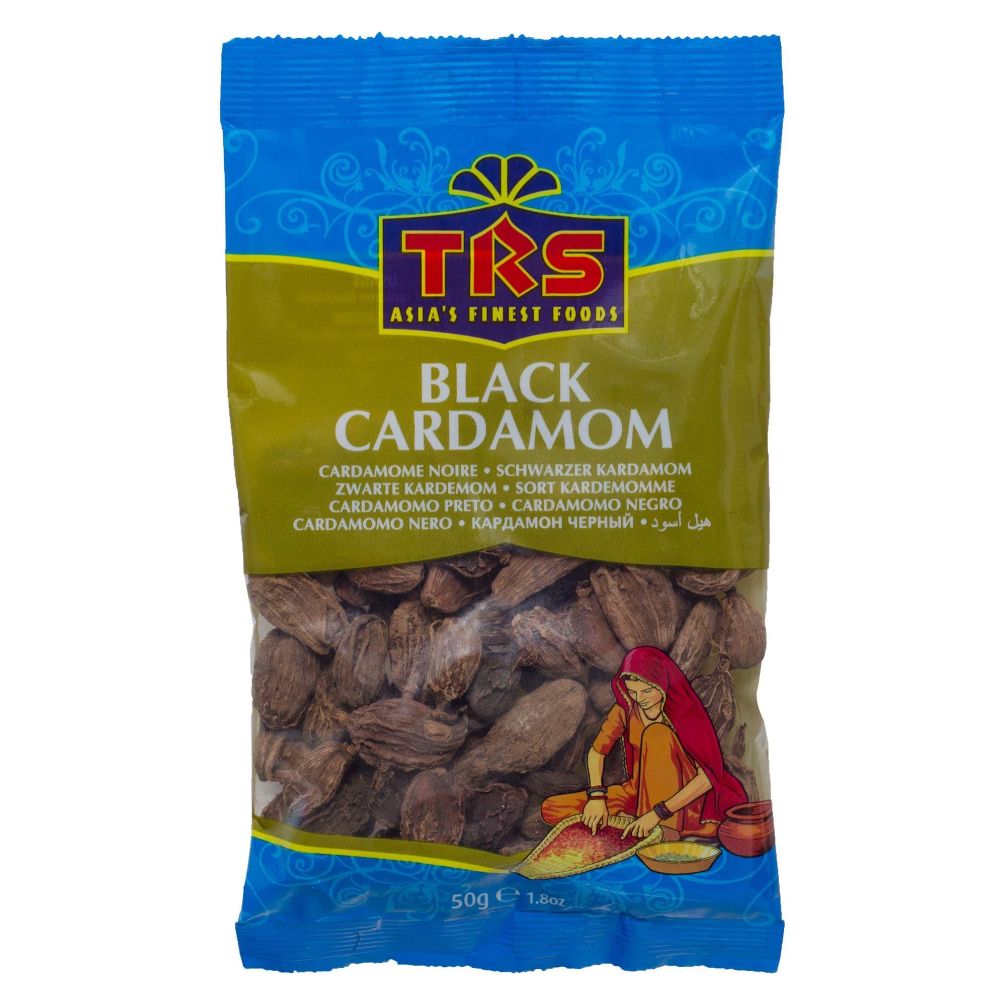 TRS Schwarzer Kardamom Black Cardamom 50g