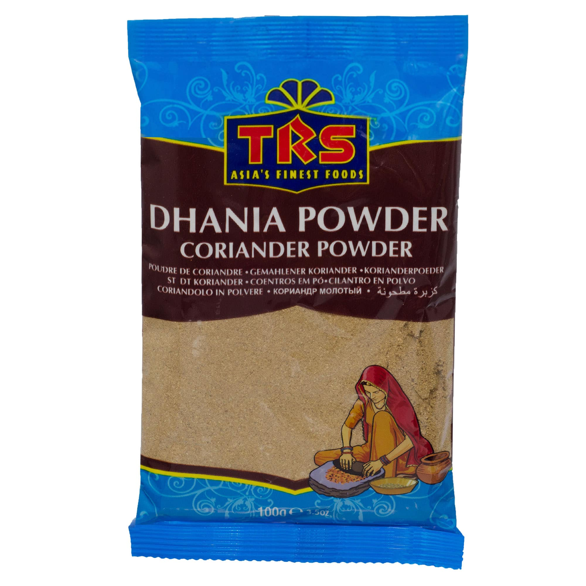 TRS Dhania Powder Koriandersamen gemahlen 100g