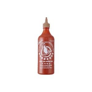 Flying Goose Sriracha Chilisauce mit extra Knoblauch brauner Deckel 730 ml