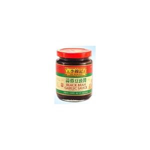 Lkk Black bean garlic sauce schwarze Bohnen Knoblauch Soße 368 g