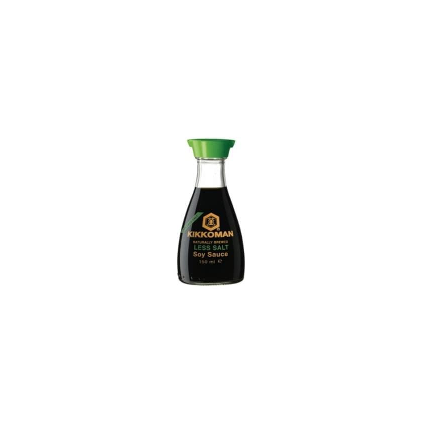 Kikkoman Japanische Sojasauce Salz reduziert Designer Flasche 150 ml