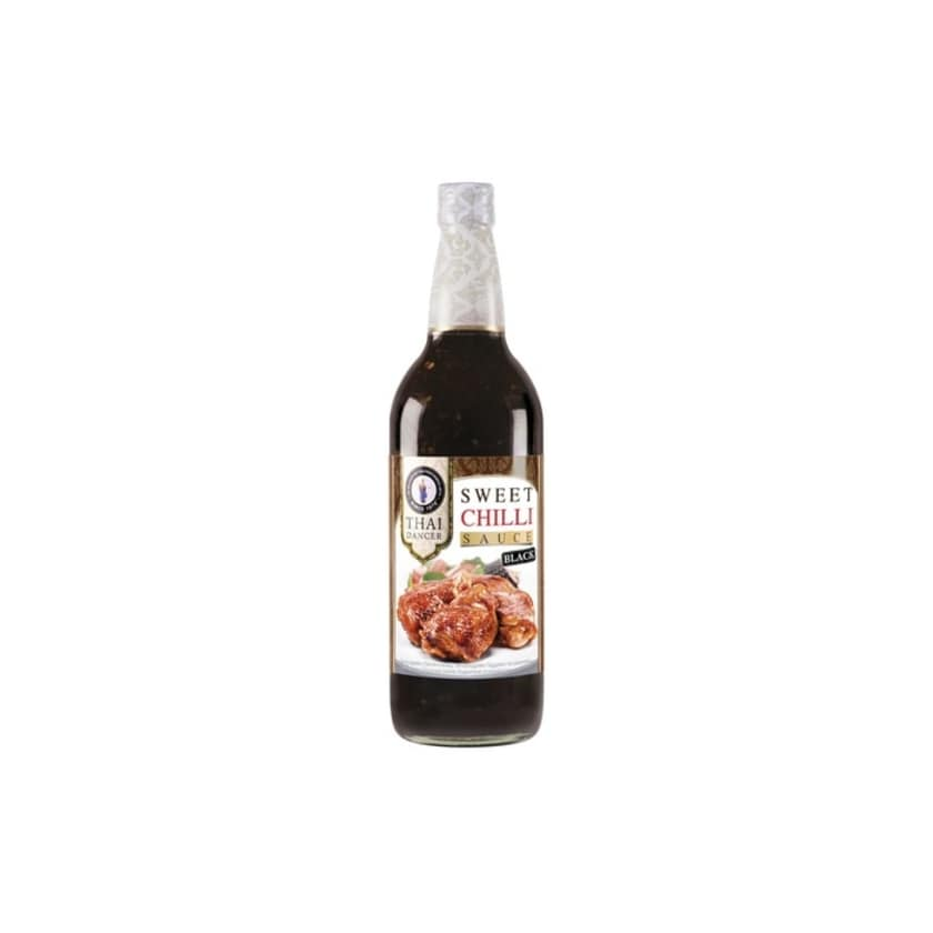 Thai Dancer Sweet Chili Sauce Black perfekt zu rotem Fleisch 730ml