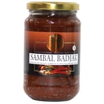 Koningsvogel Sambal Badjak scharfe Chilipaste 375 g