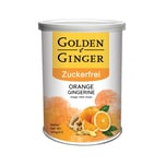 Sunny Ville Golden Ginger Zuckerfrei Ingwer Bonbon Orange 100 g