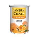 Sunny Ville Golden Ginger Zuckerfrei Ingwer Bonbon Orange 100 g