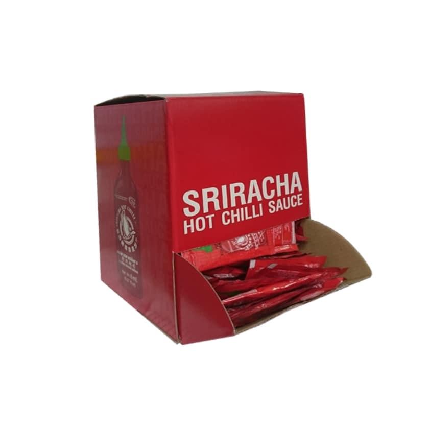Flying Goose Sriracha Hot Chili Sauce Tütchen / Karton -200 x 8 ml