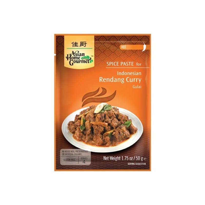 Asian Home Gourmet Indonesian Rendang Curry Gulai Pikantes Currygericht 50 g