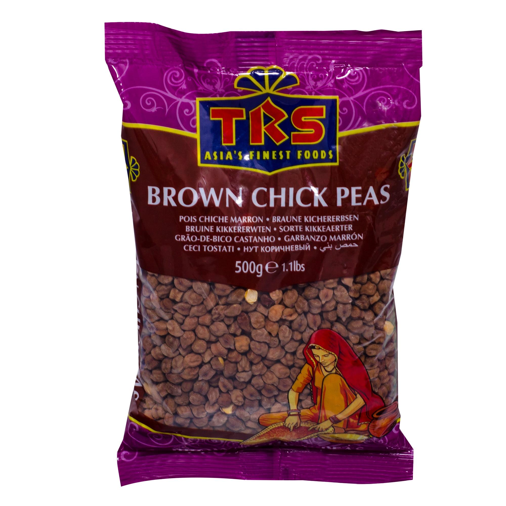 TRS Brown Chick Peas Kichererbsen braun 500g
