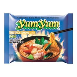 YumYum Instant Nudeln mit Thai Meeresfrüchte scharf Thai Spicy Seafood Geschmack 70g