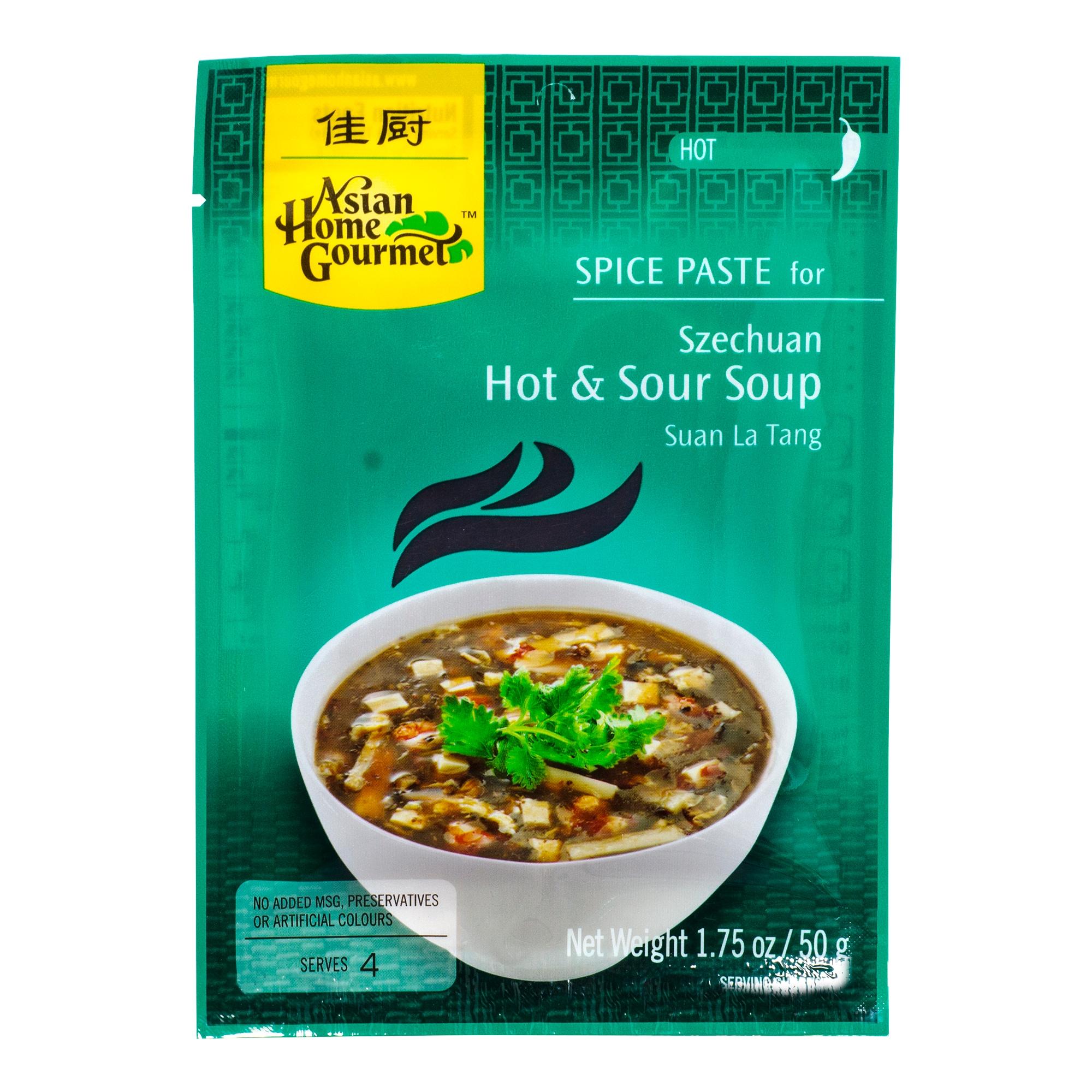 Asian Home Gourmet Hot & Sour Soup 50g