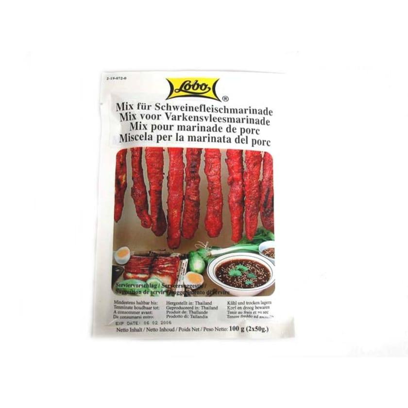 Lobo Roasted Red Pork Marinaden-Mix 100g