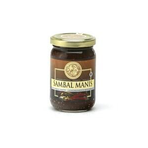 Koningsvogel Sambal Manis süße Chili Paste 375 g