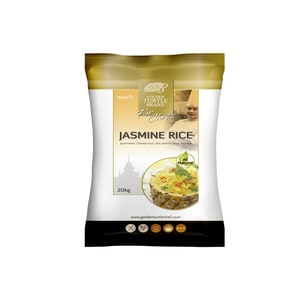 Golden Turtle Brand Jasmin Reis langkorn thailändisch 20 kg