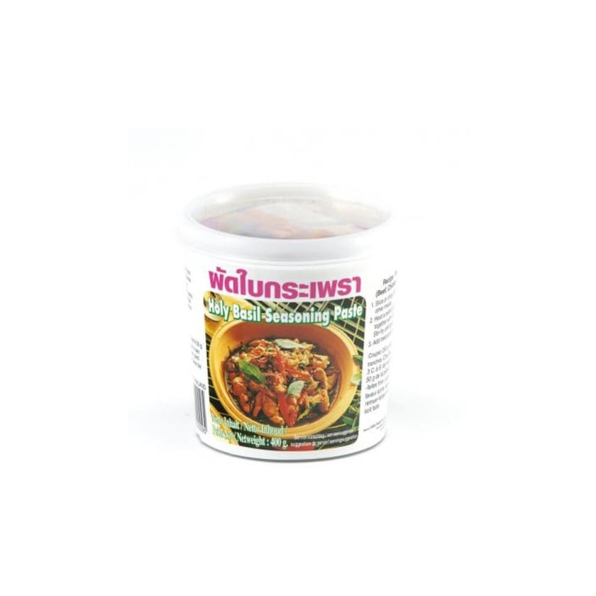 Lobo Würzpaste mit Basilikum Holy Basil Seasoning Paste 400 g