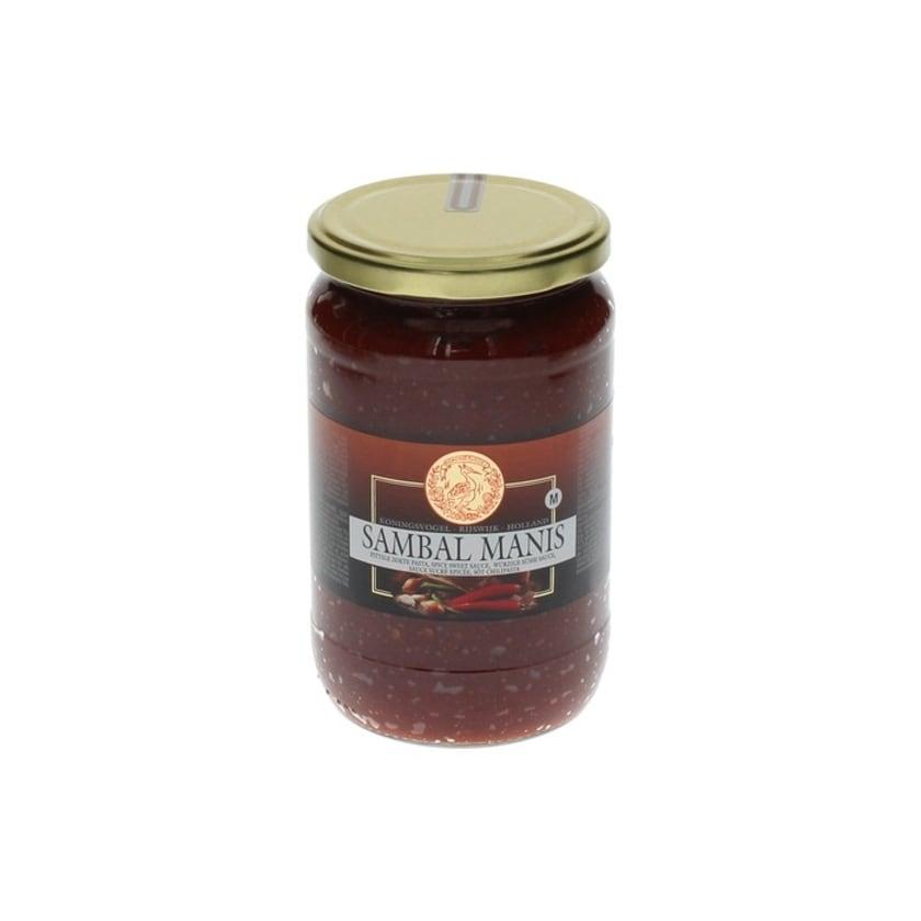 Koningsvogel Sambal Manis süße Chilipaste 750 g