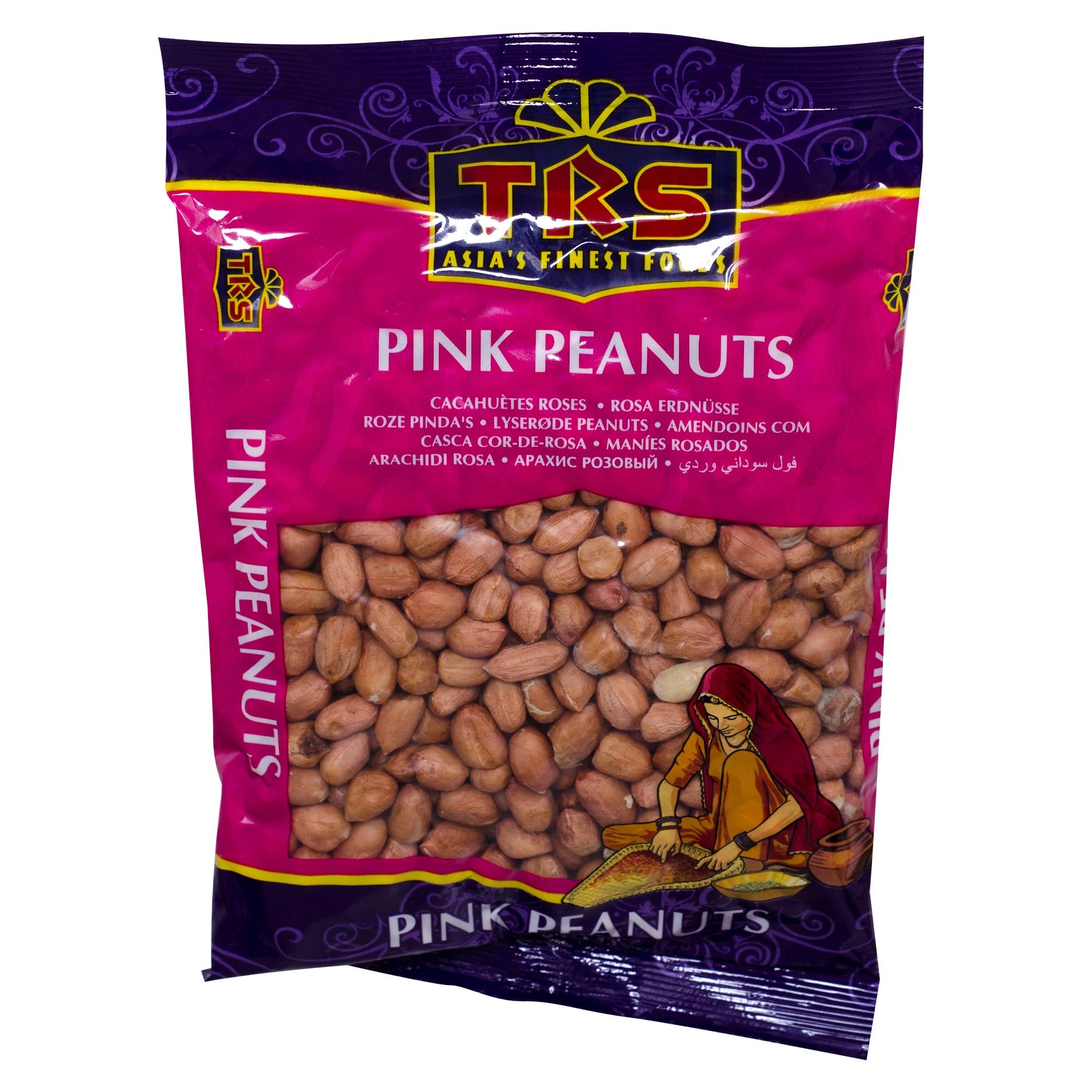 TRS Pink Peanuts Erdnüsse ungesalzen 375g