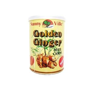 Sunny Ville Golden Ginger Ingwer Bonbons zum Lutschen 150g