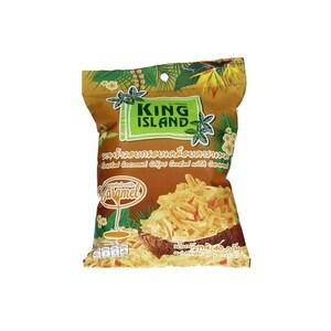 King Island Geröstete Kokoschips mit Karamellgeschmack 40g
