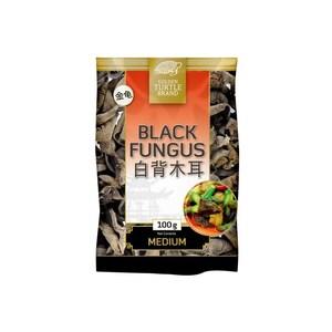 Golden Turtle Getrocknete schwarze Pilze Mu-Err Black Fungus 100 g