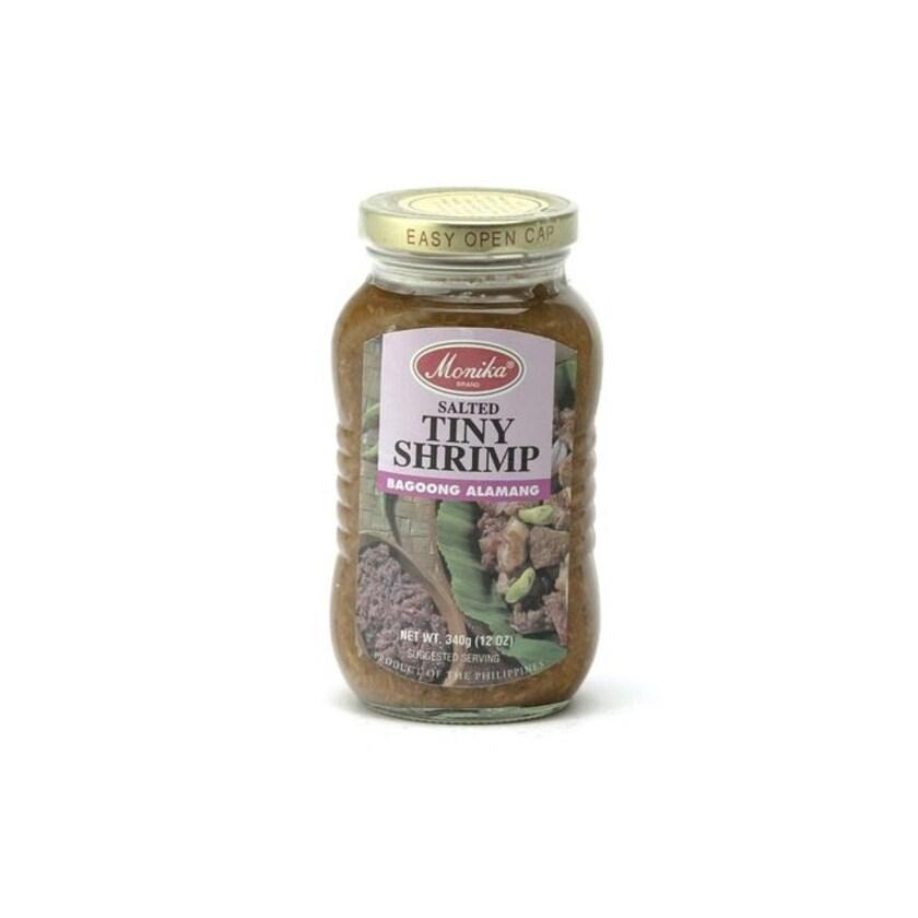 Monika SALTED TINY SHRIMP Gesalzene Garnelen BAGOONG ALAMANG 340 g