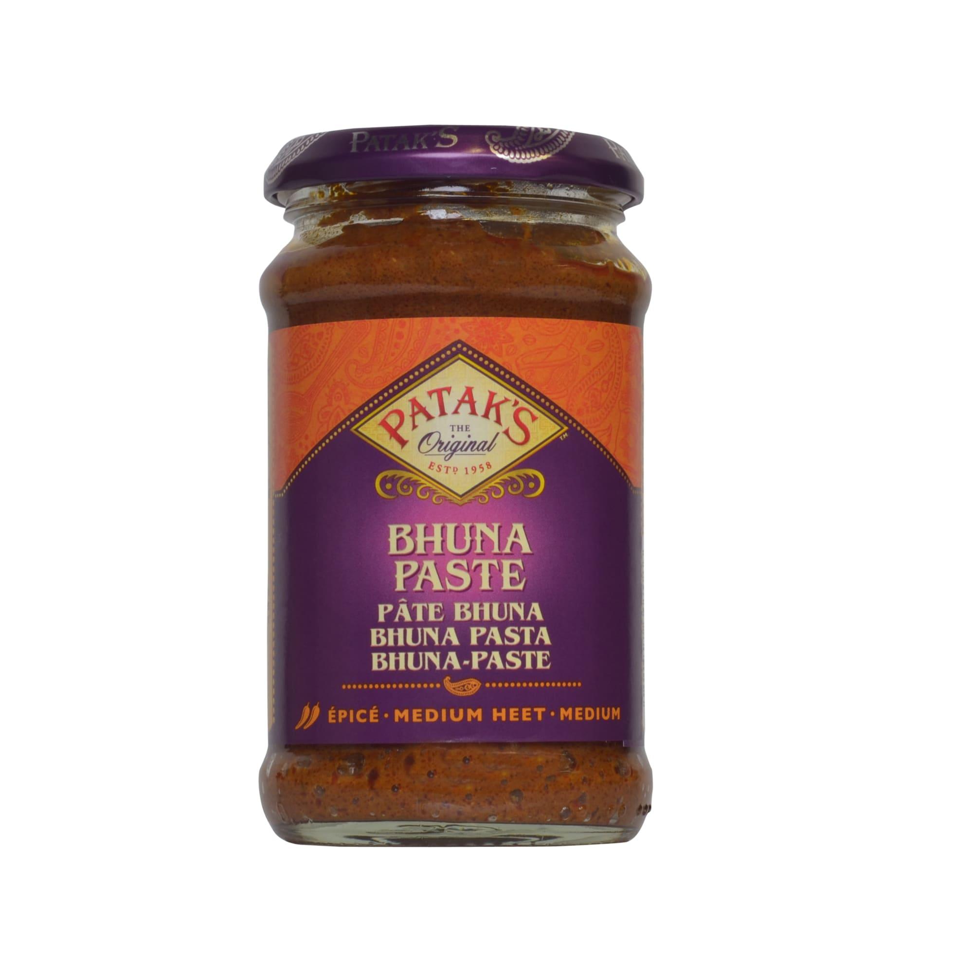 Patak's Bhuna Paste Currypaste mit Tomate und Tamarinde 283g