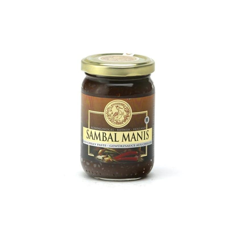 Koningsvogel Sambal Manis süße Chili Paste 200 g