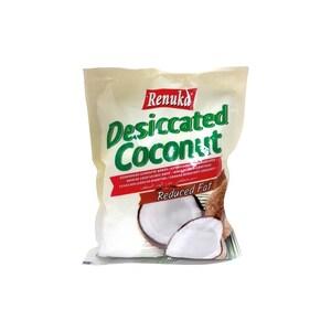 Renuka getrocknete Kokosraspel mit reduziertem Fettgehalt 250 g