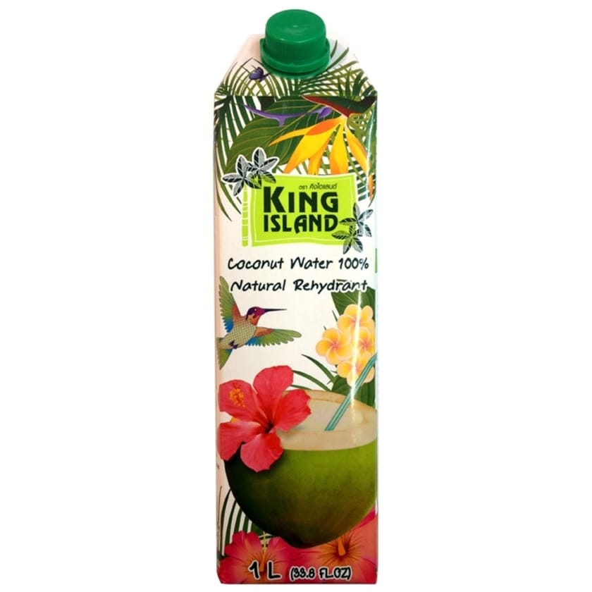 King Island Coconut Water 100 % 1 Liter