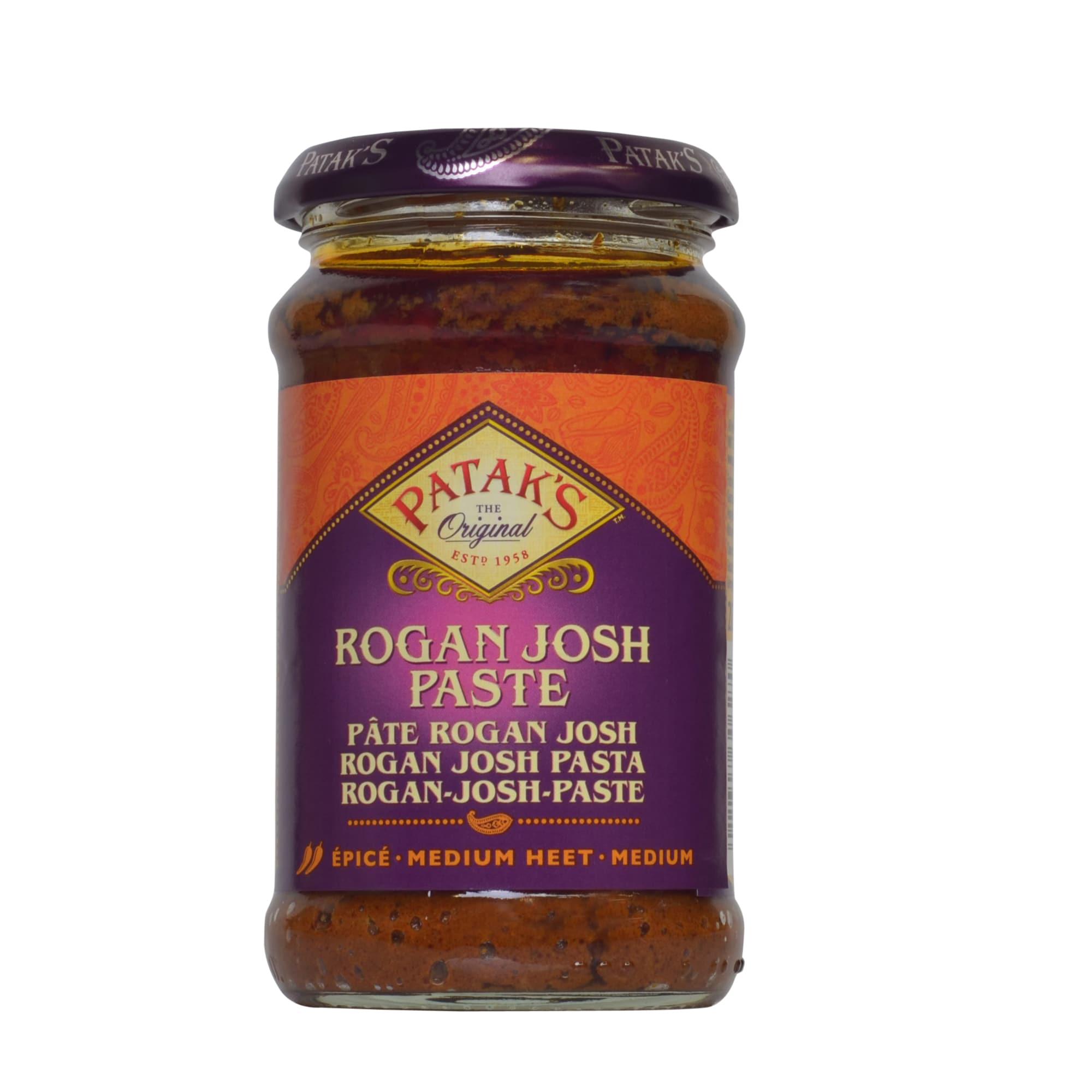 Patak's Rogan Josh Paste Currypaste mit Tomate und Paprika 283g