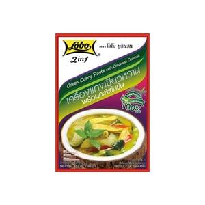 Lobo Grüne Currypaste mit Kokoscreme 100 g