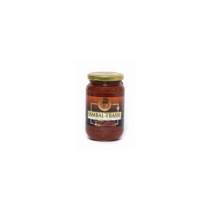 Koningsvogel Sambal Trassi würzige Chili Paste mit Garnelengeschmack 375g