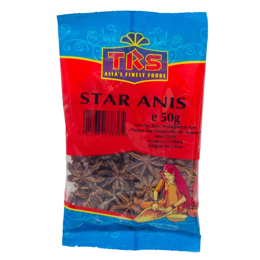 TRS Stern Anis ganz 50g
