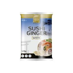 Golden Turtle Brand Sushi Ingwer weiss 1,5 kg