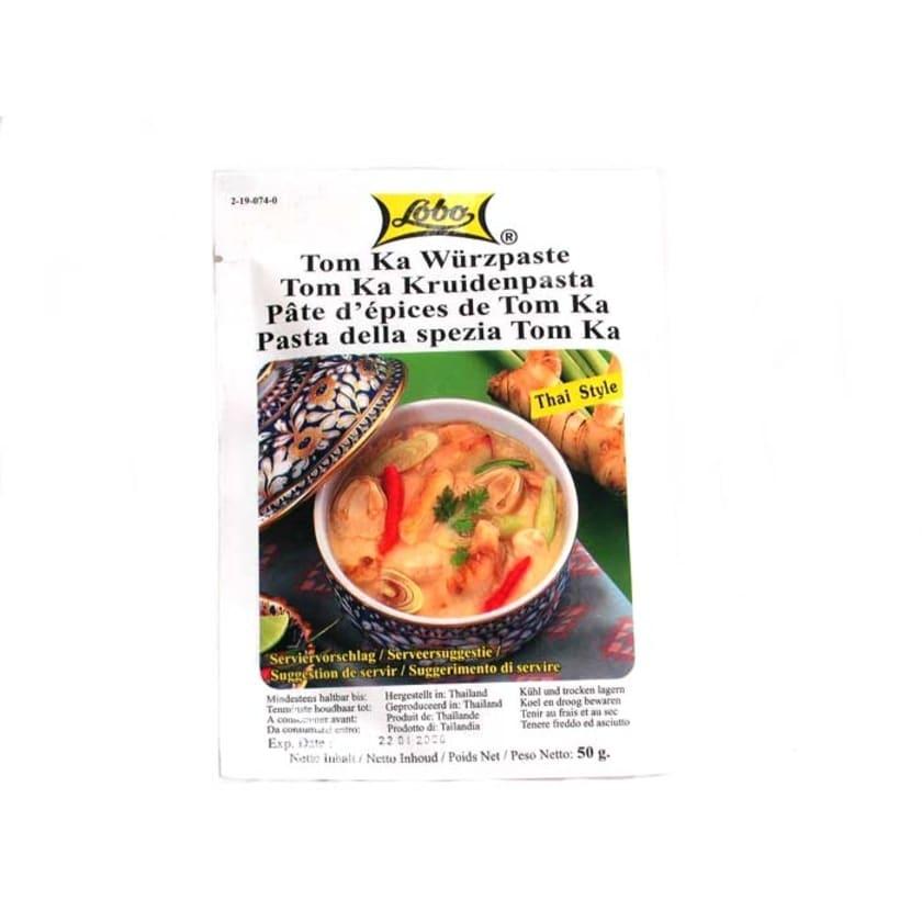 Lobo Tom Ka Würzpaste sauer scharfe Kokossuppe 50 g