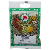 NGR Dried Mint Leaves getrocknete Minzblätter 10g
