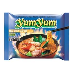 YumYum Instant Nudeln mit Thai Meeresfrüchte scharf Thai Spicy Seafood Geschmack 30er Karton 30 x 70g