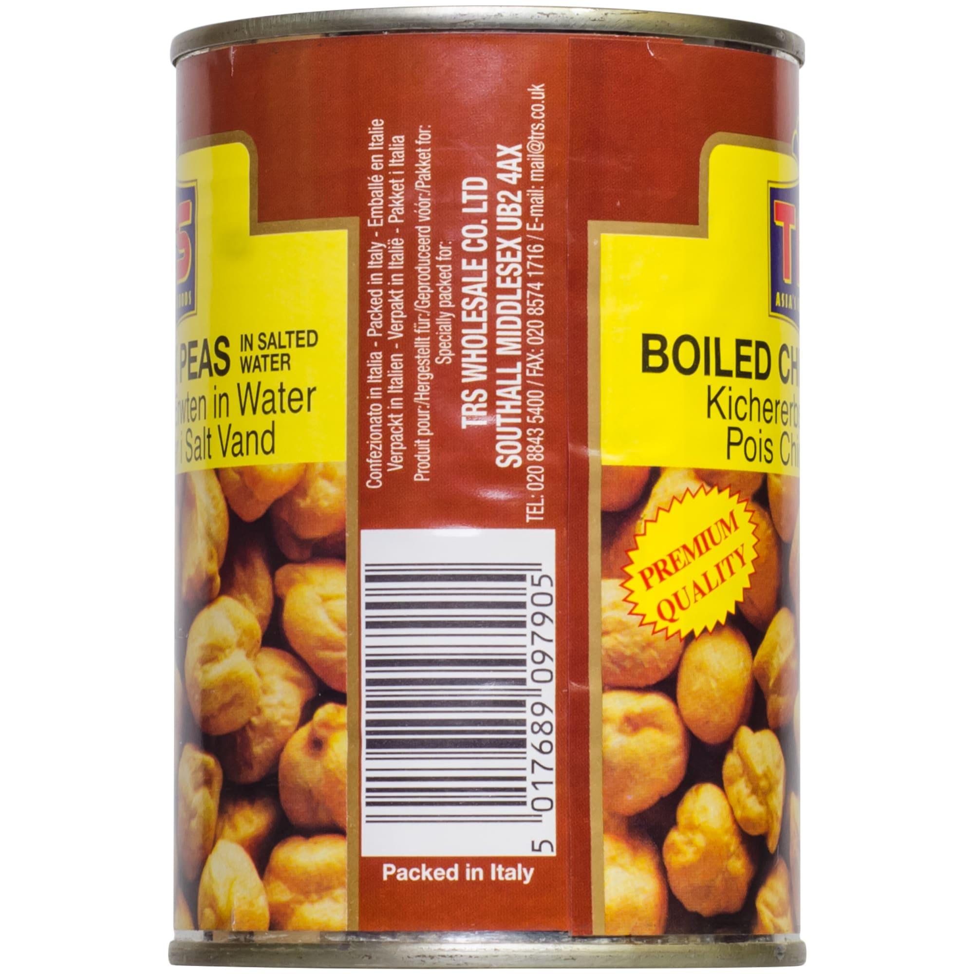 TRS boiled Chick Peas Gekochte Kichererbsen 240g