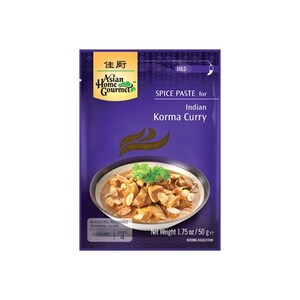 AHG Indische Korma Curry Gewürz Paste für Curry ohne künstliche Zusätze 50 g