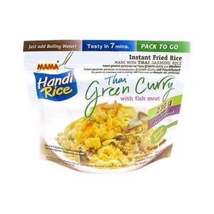 MAMA Handi Rice Green Curry + fishballs 80 g