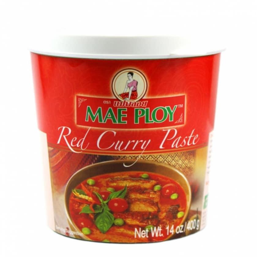 Mae Ploy Rote Currypaste thailändisch 400g