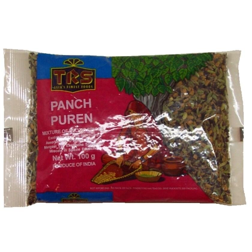 TRS Panch Puren Exotische Gewürz Mischung 100g
