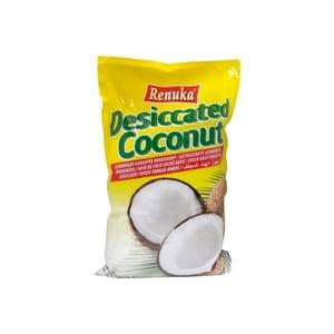 Renuka getrocknete geriebene Kokosnuss Kokosraspel 100% pur 500g
