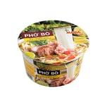 Mama Instant Nudelsuppe Reisbandnudeln Pho Bo Rindfleisch Aroma im Becher 65g