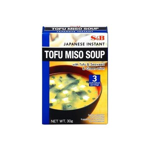 S&B Instant Tofu Miso Soup 30 g